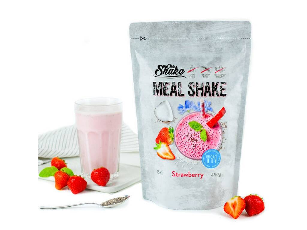 Chia Shake optimal jahodový 1200g
