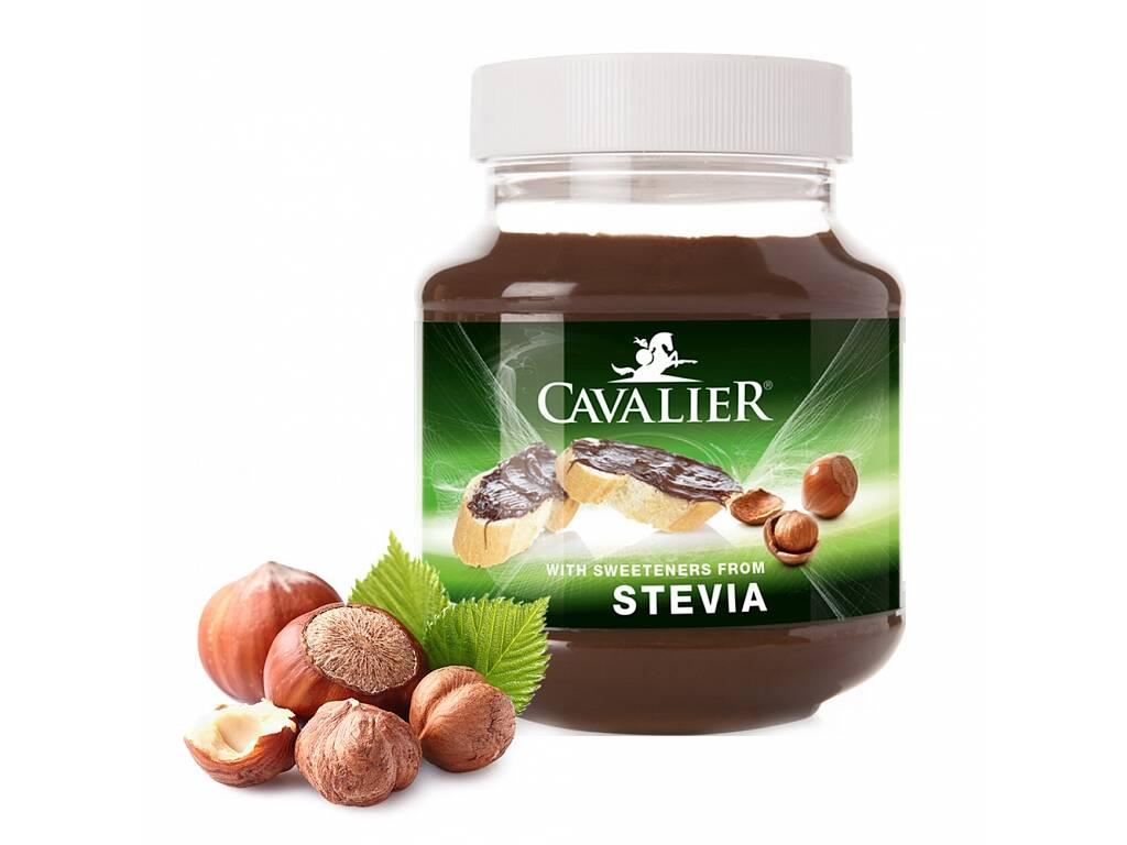 Cavalier Lieskovoorieškový krém so stéviou 380 g