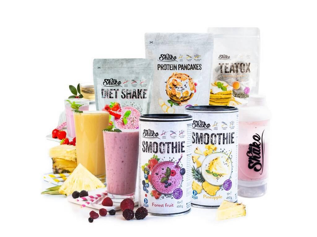 Chia Shake Letný diétny balíček 1800g