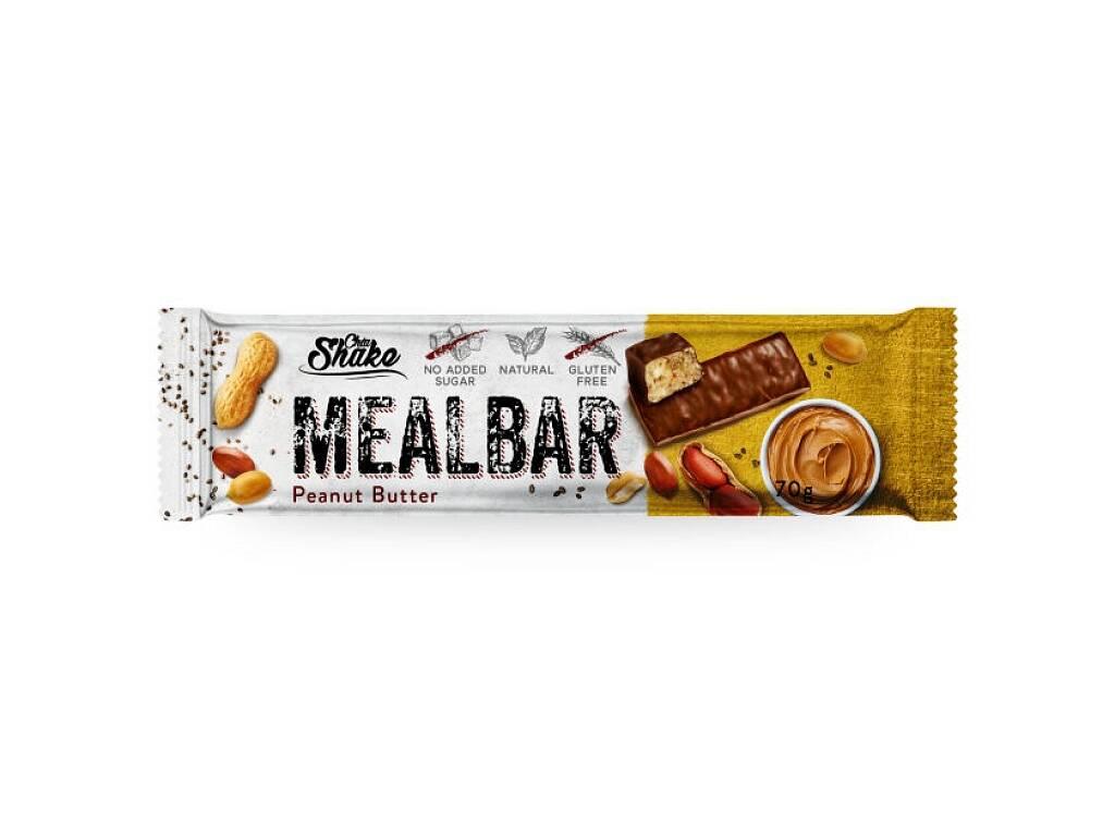 Chia Shake Proteínová tyčinka MEALBAR Arašidové maslo 70g