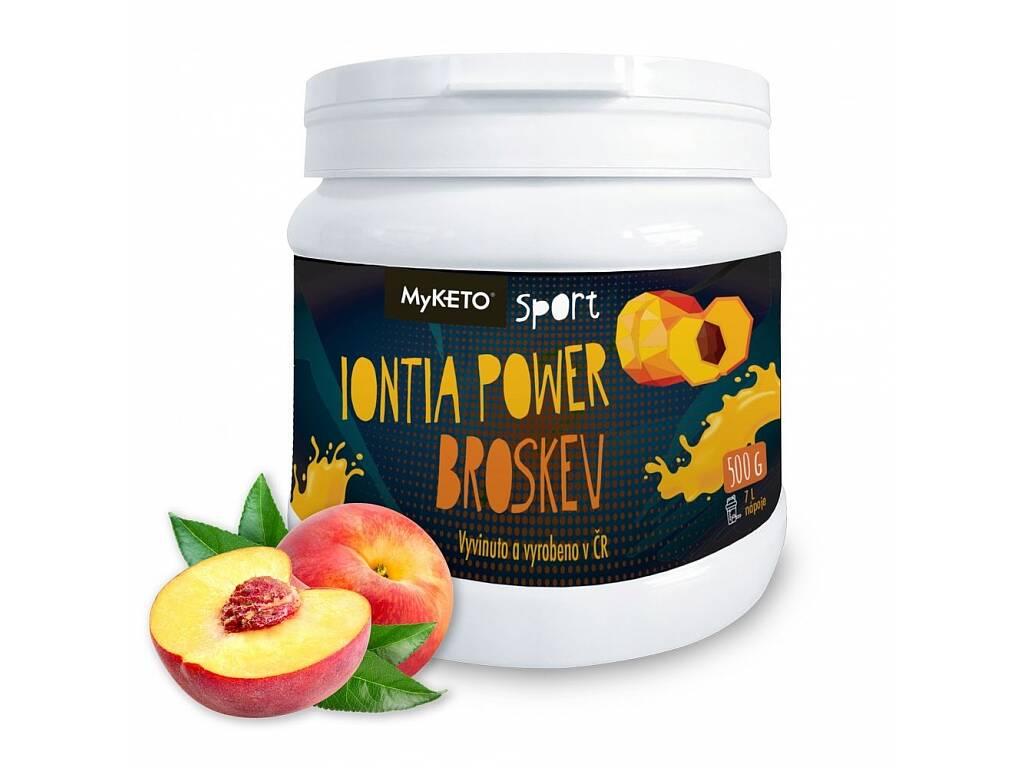 MyKETO Iontia Power broskev 500 g