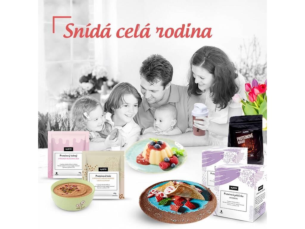 MyKETO Proteinový balíček Snídá celá rodina na 7 dnů