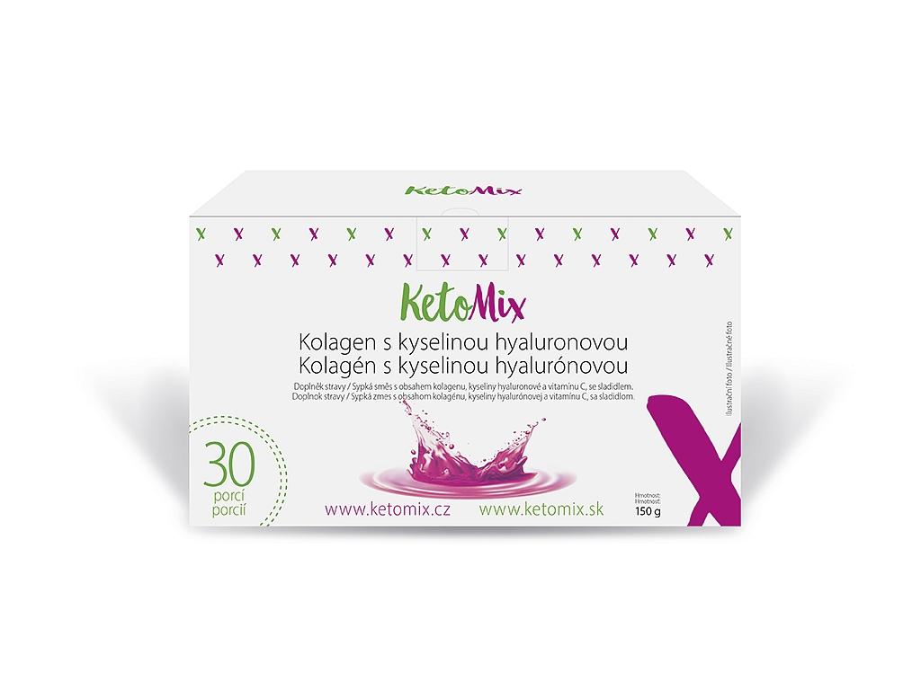 KetoMix Kolagén s kyselinou hyalurónovou (30 porcií)