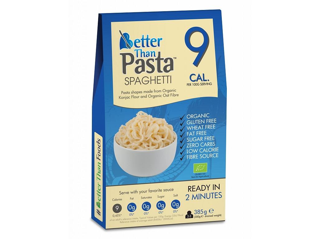 Better than Pasta Slim Pasta konjakové špagety BIO - maxi balenie 385 g