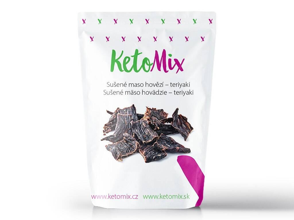 KetoMix Sušené mäso hovädzie – teriyaki (1 porcia) 30 g