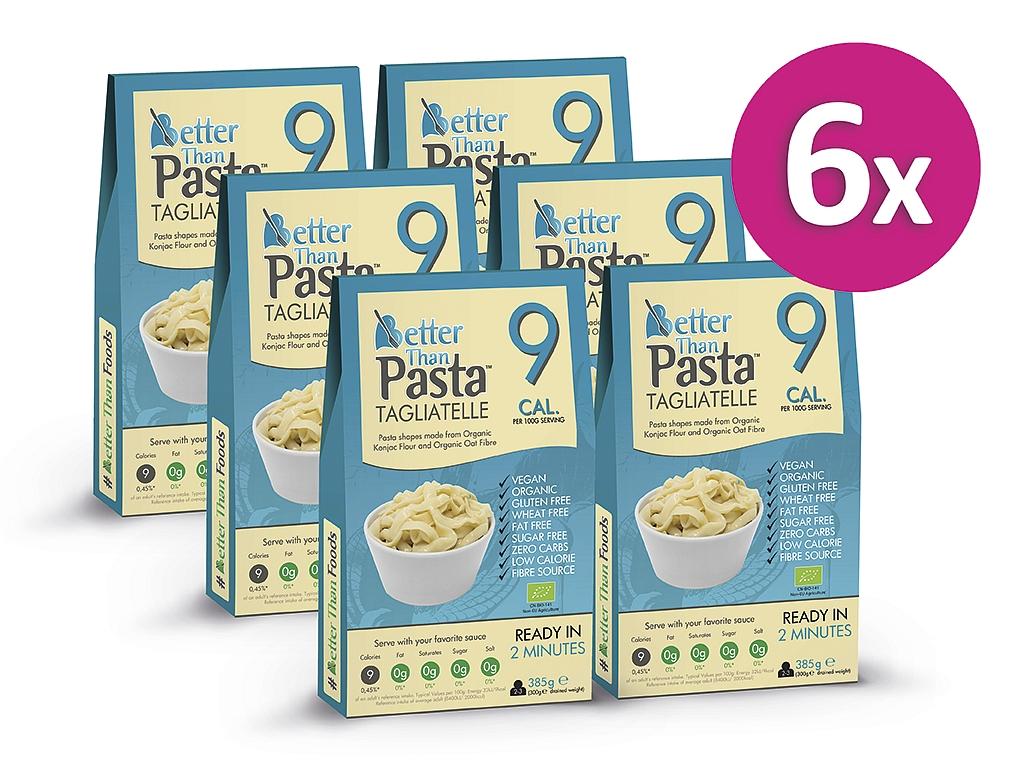 Better than Pasta Konjakové bezsacharidové tagliatelle (5+1 zdarma)