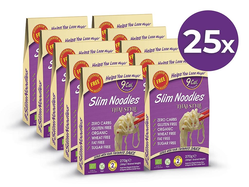 Výhodný balíček Slim Pasta Rezance thajské (25 ks)
