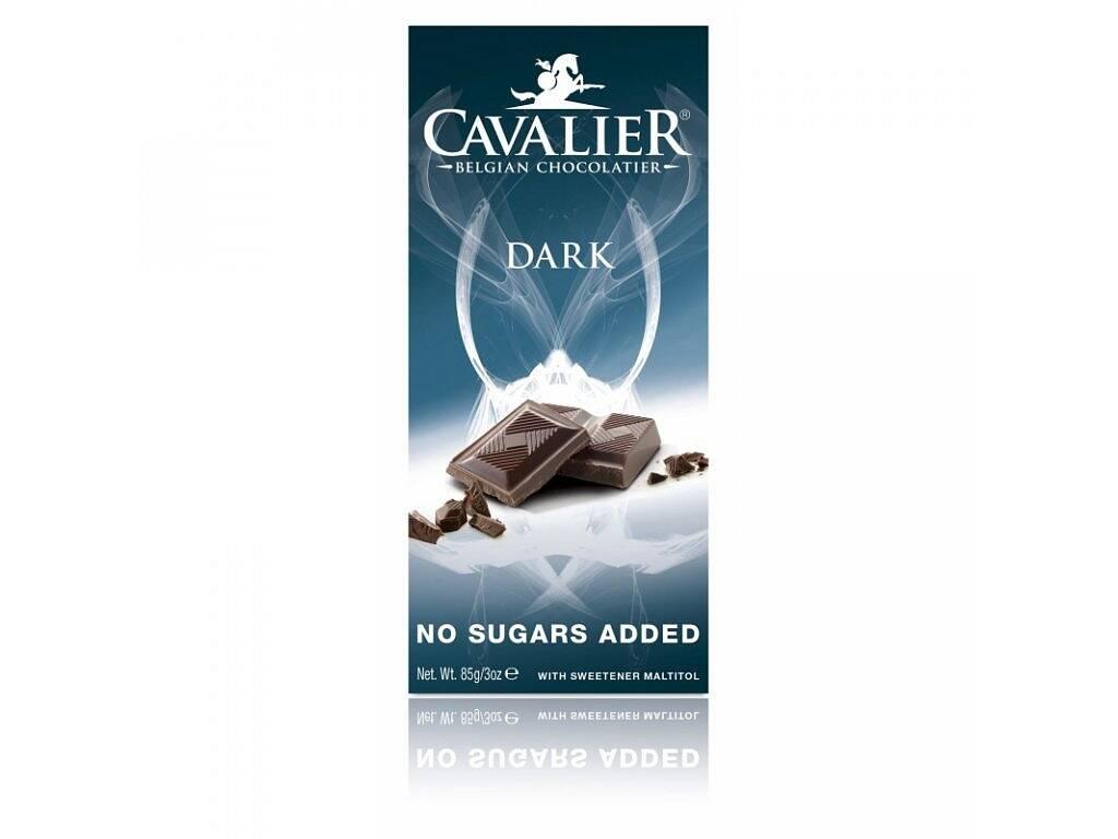 Cavalier Čokoláda DARK (sladená maltitolom) 85 g