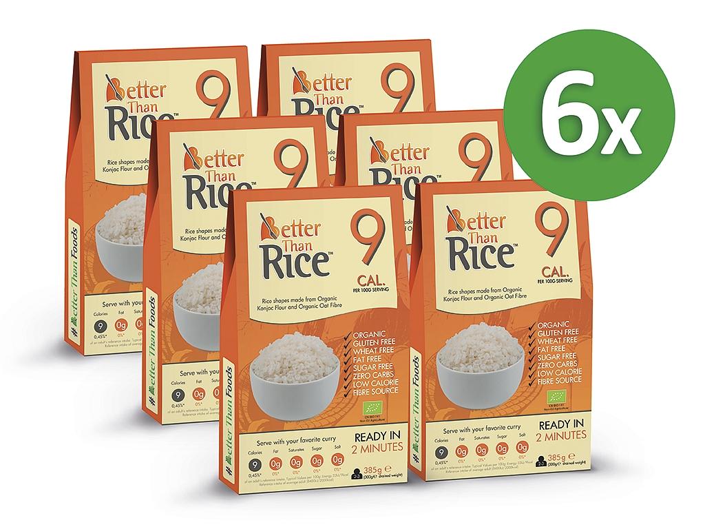 Better Than Foods Konjacová bezsacharidová ryža (5+1 zadarmo)