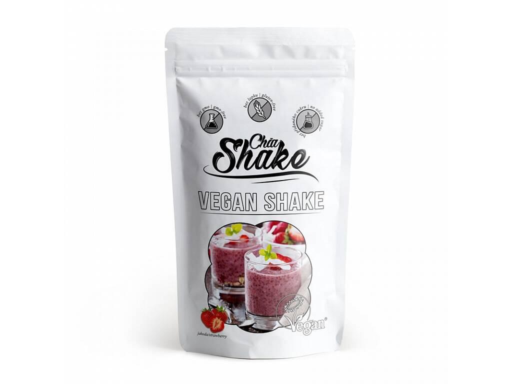 Chia Shake Vegan jahodový 450g