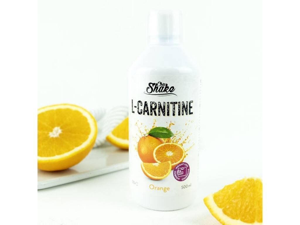 Chia Shake Carnitin pomeranč 500ml