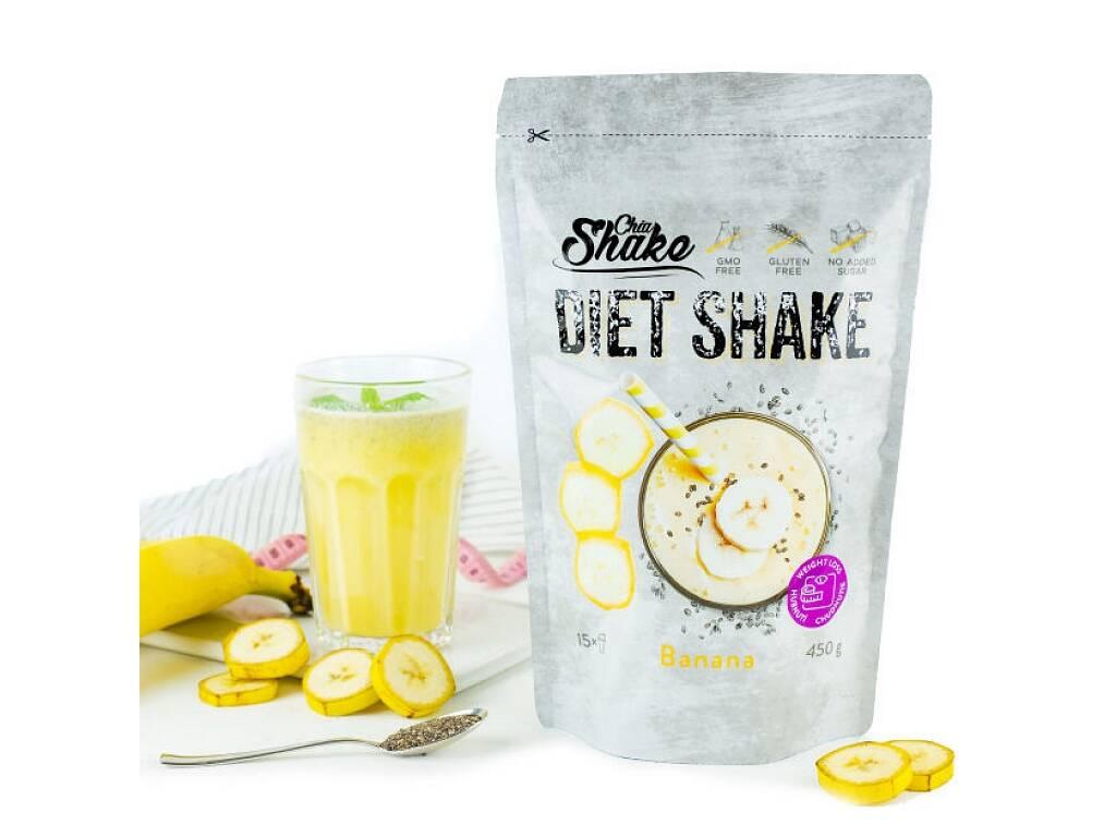 Chia Shake Diétny kokteil banánový 450g