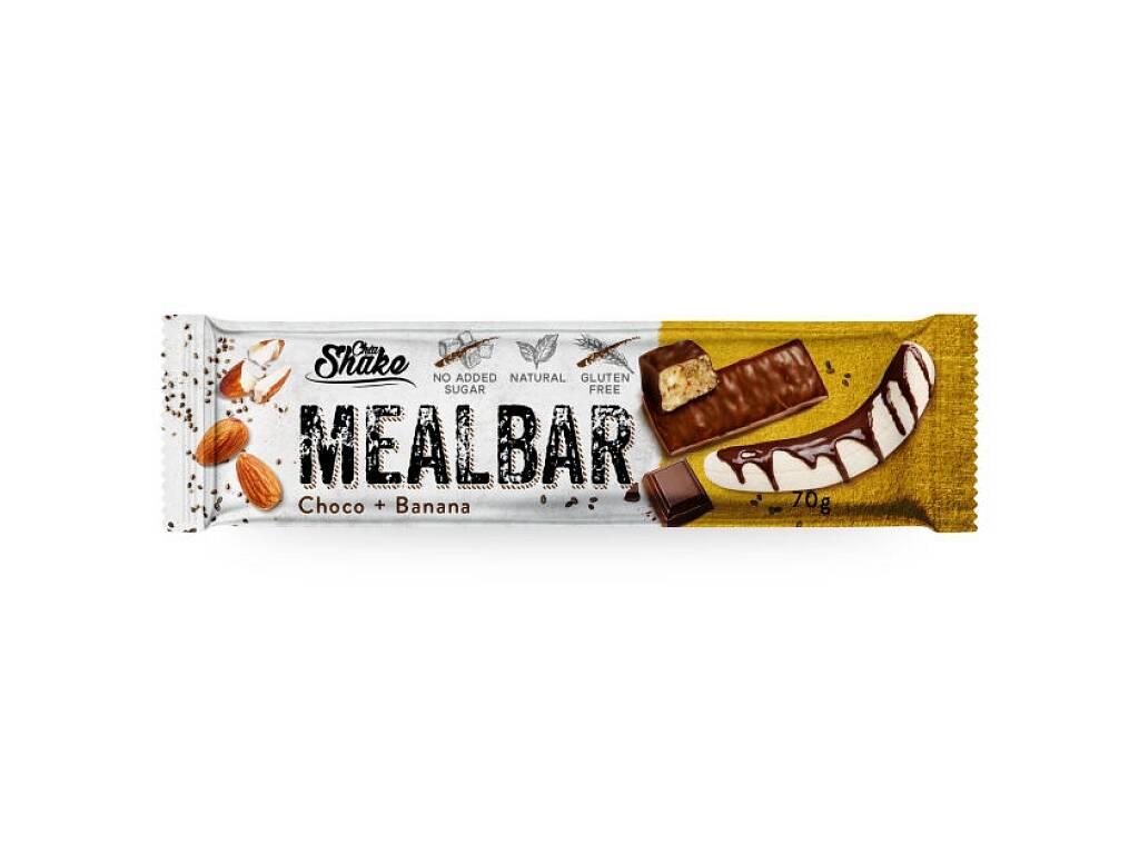 Chia Shake Proteínová tyčinka MEALBAR Banán v čokoláde 70g