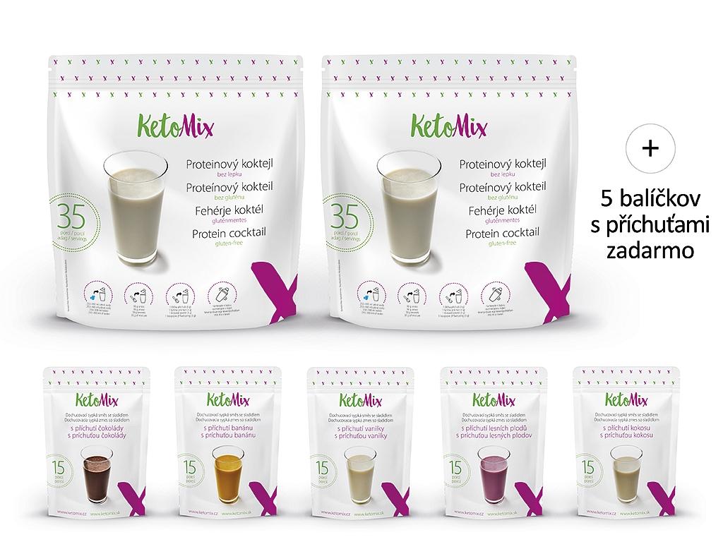 KetoMix Proteínový kokteil na 2 týždne