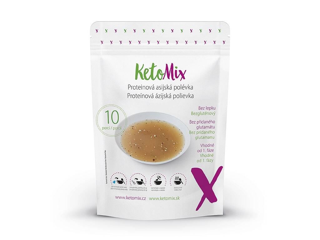 KetoMix Proteínová ázijská polievka (10 porcií) 250 g