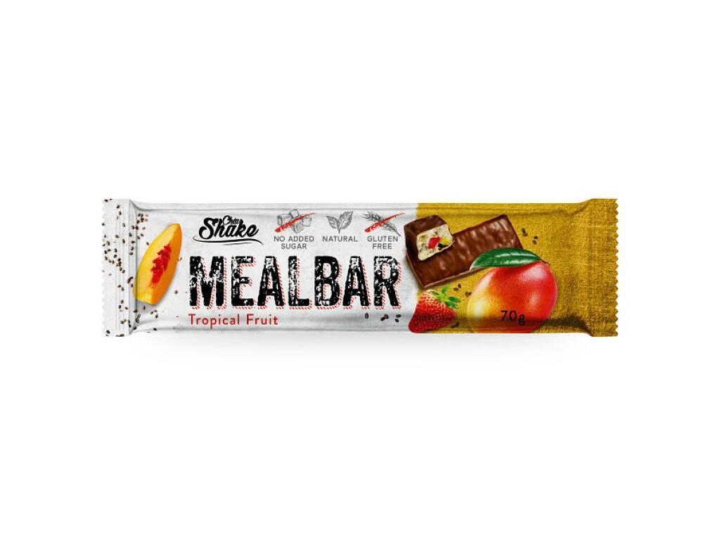 Chia Shake Proteínová tyčinka MEALBAR Tropické ovocie 70g