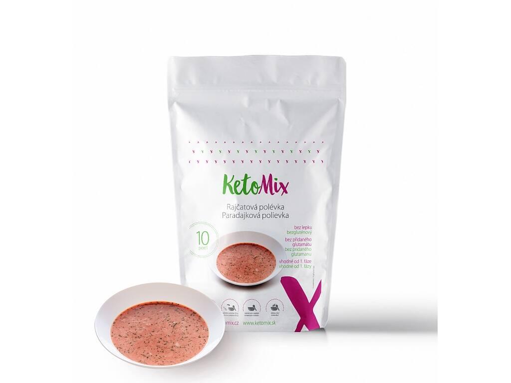 KetoMix Proteinová polévka 300 g (10 porcí) - rajčatová