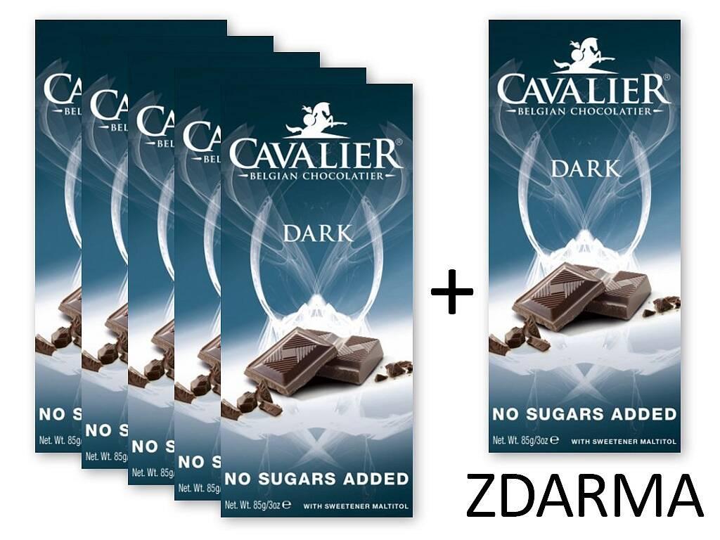 KetoMix Čokoláda DARK 5+1 ZDARMA