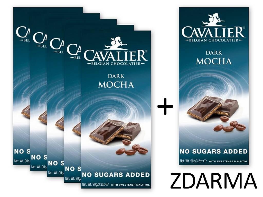 Cavalier Čokoláda DARK MOCHA 5+1 ZADARMO