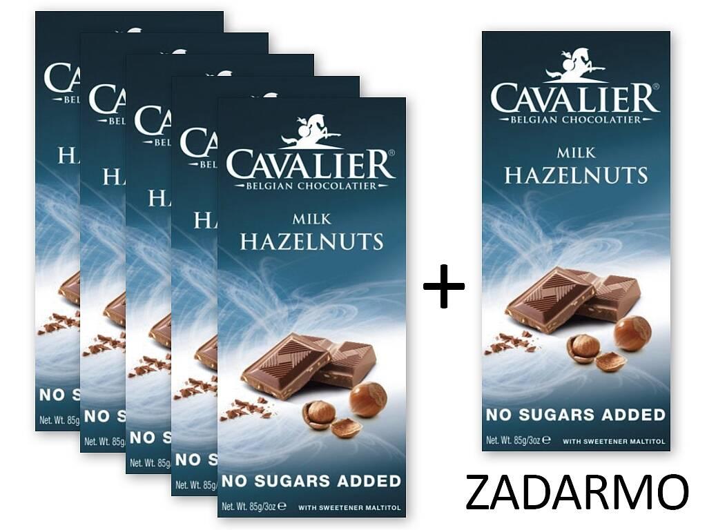KetoMix Čokoláda MILK HAZELNUTS 5+1 ZADARMO