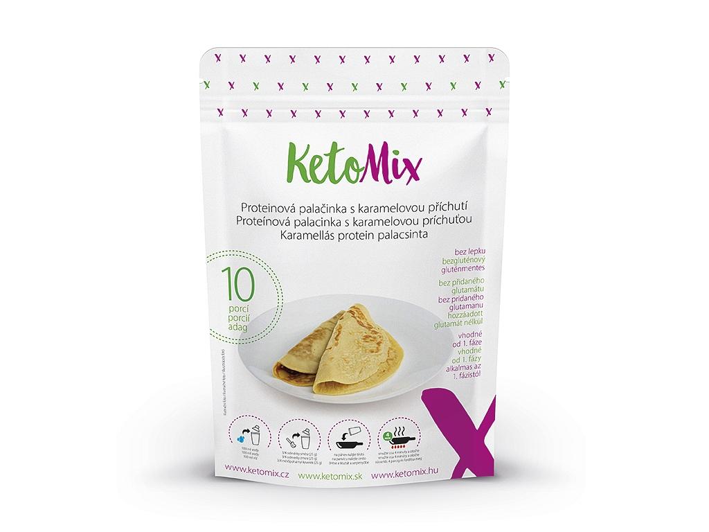 KetoMix Proteínová palacinka s karamelovou príchuťou (10 porcií)