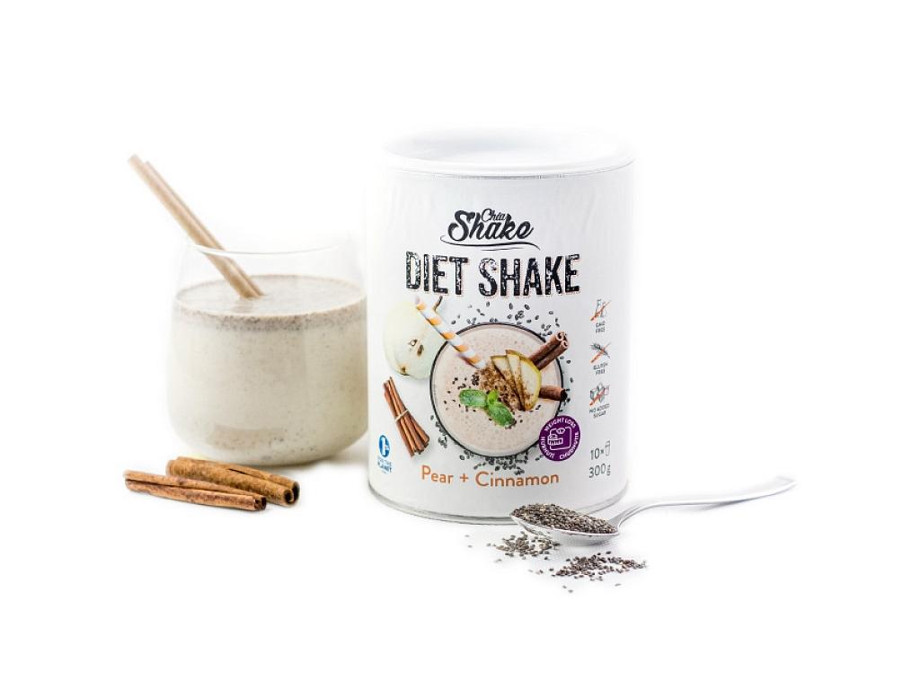 Chia Shake Diétny kokteil hruška so škoricou 300g