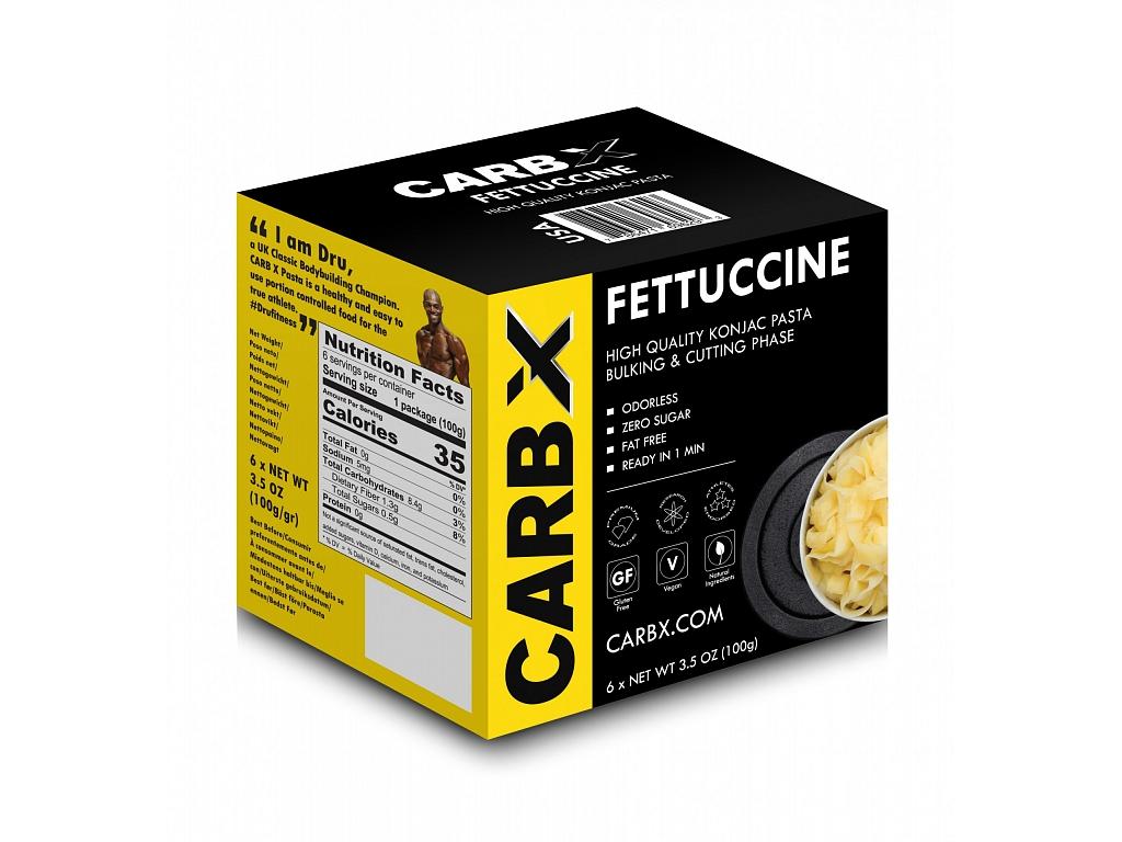 Carb X Slim Pasta Fitness fetučíny 600 g