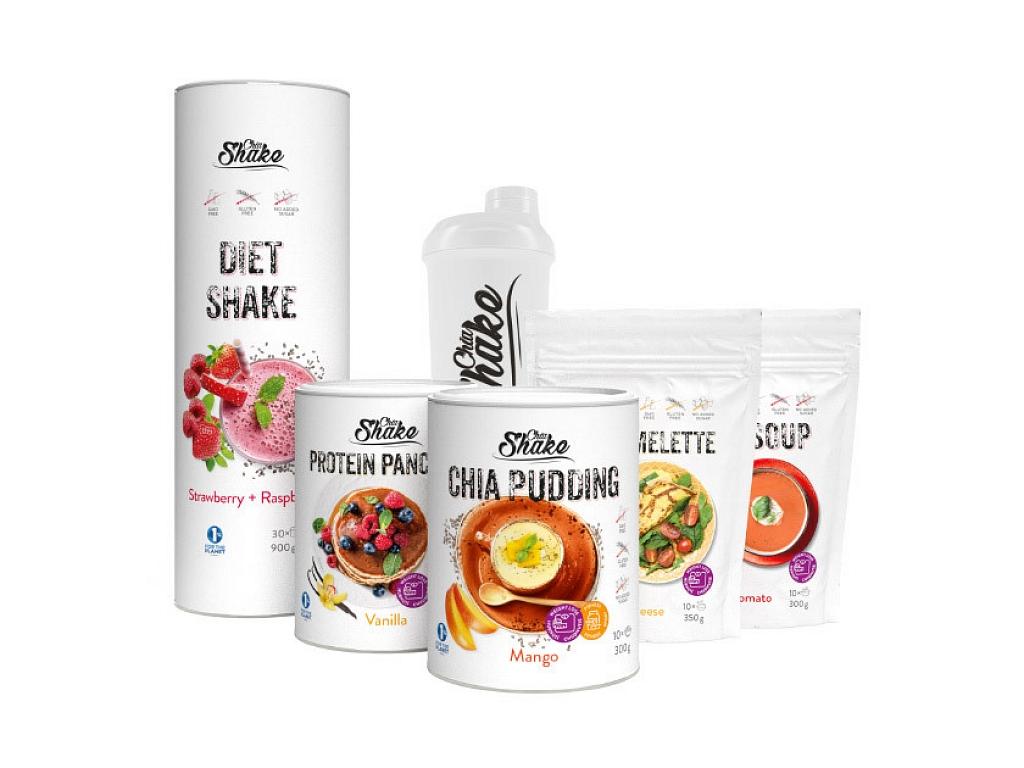 Chia Shake Dietní balíček na 2 týdny  2100g
