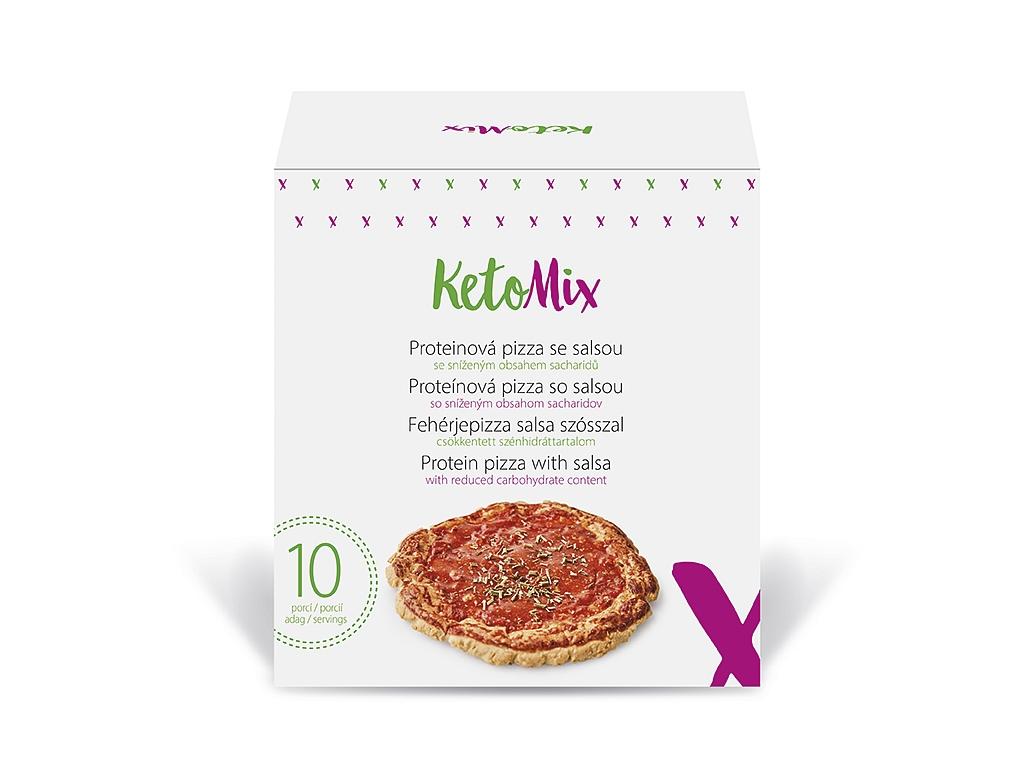 KetoMix Proteínová pizza so salsou (10 porcií)