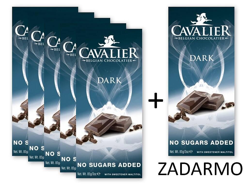 Cavalier Čokoláda DARK 5+1 ZADARMO